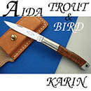 AIDA TROUT & BIRD Karin Wood/VG-10