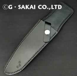 Leather sheath for G.SAKAI kitchen knives