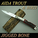 AIDA TROUT & BIRD Jigged Bone/VG-10