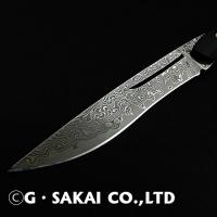 Damascus Table knife